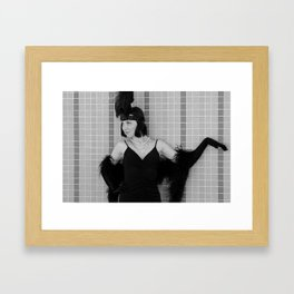 The Cats Meow  Framed Art Print