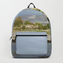 Limestone hills, Ballyvaughan, Burren,Clare, Ireland Backpack