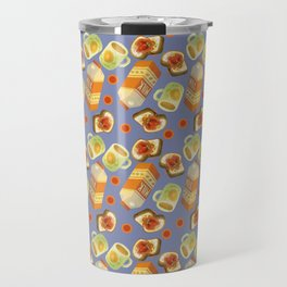 Coffee and Toast (Prune Purple) Travel Mug