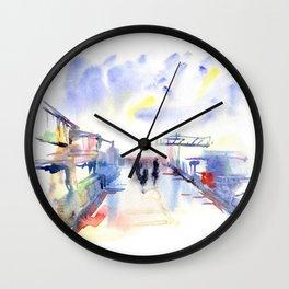 Limassol Marina. Wall Clock