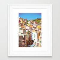 italy Framed Art Prints featuring Italy by GF Fine Art Photography