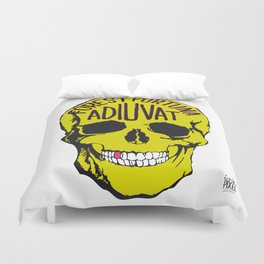 Fortune Favours The Brave. Duvet Cover