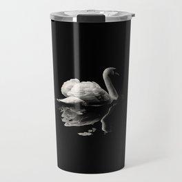 Dramatic Swan Travel Mug