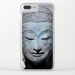 Crowned Buddha Clear iPhone Case
