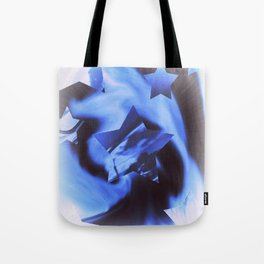 Starburts II cold blue Tote Bag