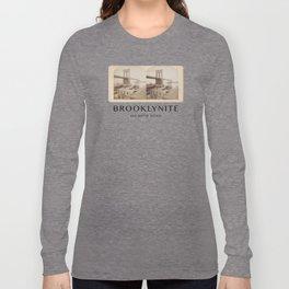 BROOKLYNITE on both sides Long Sleeve T-shirt