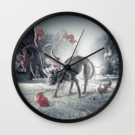 Opti-Dog Wall Clock