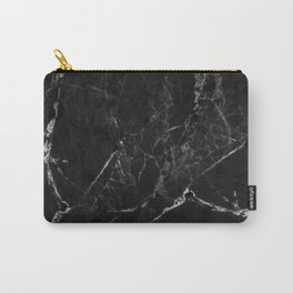 Black Marble Print II Carry-All Pouch