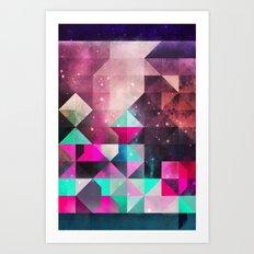 lyyk fyrwyrd Art Print