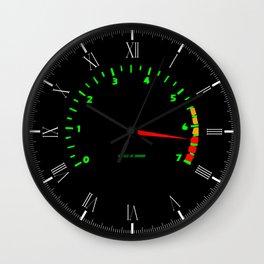 RPM Wall Clock