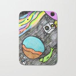 Space Fun Bath Mat