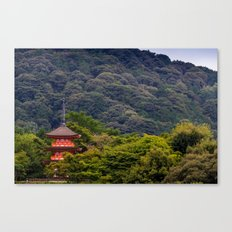 Forest Temple 2 Canvas Print