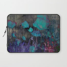 Poppies Abstract Laptop Sleeve