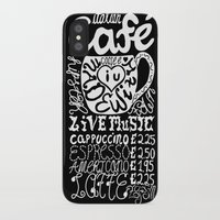 italian iPhone & iPod Cases featuring Italian Cafe by Geryes