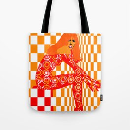 Mod - Red Tote Bag