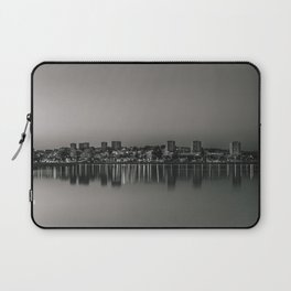 Porto in Black and White Laptop Sleeve