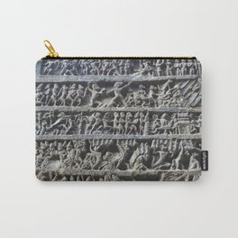 Ajanta Caves Sculpture Carry-All Pouch