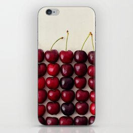 Cherry cherry quite contrary iPhone Skin