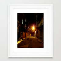 shadow Framed Art Prints featuring SHADOW by Christophe Chiozzi