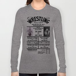 #13 Memphis Wrestling Window Card Long Sleeve T-shirt