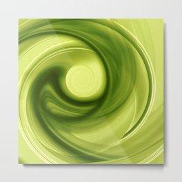 Daydreams of Green Metal Print