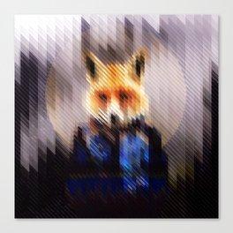 Winter Fox Canvas Print