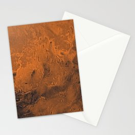 Chryse Planitia, Mars Stationery Cards