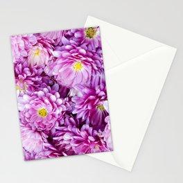 Padre Cerise Belgian Mum 'Bouquet' Stationery Cards