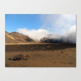Tongariro Volcanic Landscape - New Zealand Canvas Print