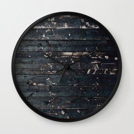 Peeling Paint Wall Clock