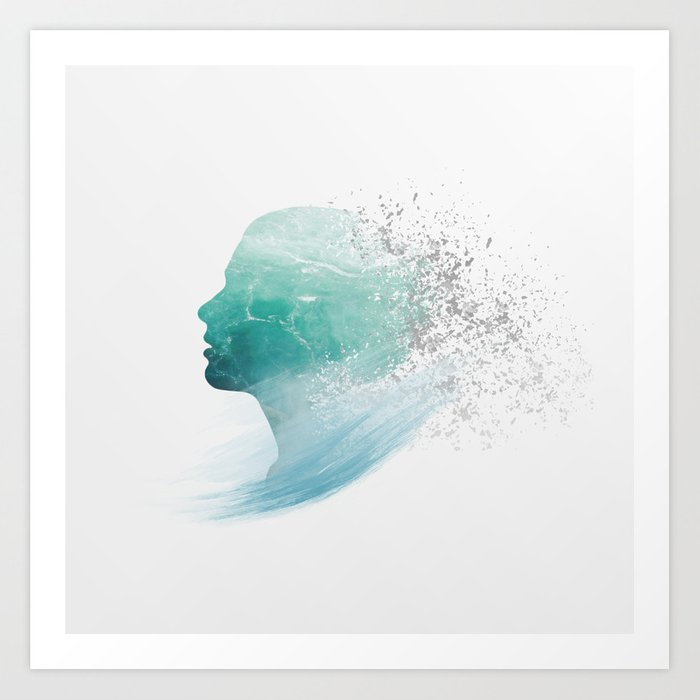 One with the World I Art Print