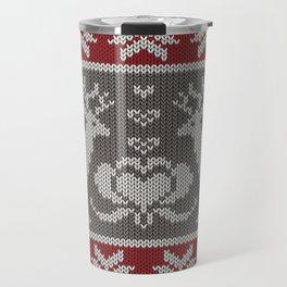 Ugly knitted Sweater Travel Mug