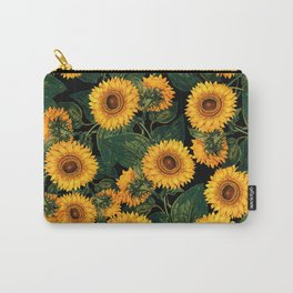 Helianthus Annuus II Carry-All Pouch