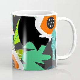 Tropical vibe with toucans Coffee Mug