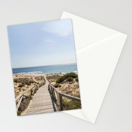 Andalusia Beach Impression  Stationery Cards