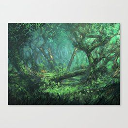 Forest of the Wise Canvas Print