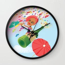 Umbrella Ella Ella Eh Wall Clock