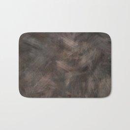 Brown dark misty look Bath Mat