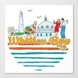 Spanish City Fun Park, Whitley Bay Canvas Print