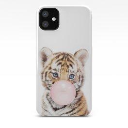 Bubble Gum Tiger Cub iPhone Case