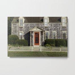 Cape Cottage Metal Print