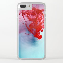 Ink Drop Clear iPhone Case