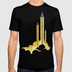 Lift-off! X-LARGE Black Mens Fitted Tee