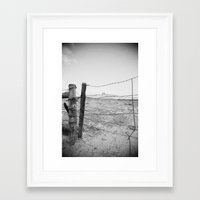 western Framed Art Prints featuring Western by Humble Places