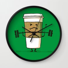 Strong Coffee Wall Clock