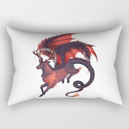 Dragonstag Rectangular Pillow
