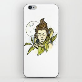 Moonlit Girl iPhone Skin
