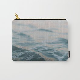 Blue Underneath Carry-All Pouch