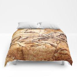Panel of Lions // Chauvet Cave Comforters