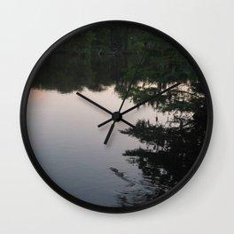 Alligator Lake Wall Clock